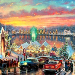 Jigsaw puzzle: Festive evening