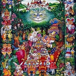 Jigsaw puzzle: Alice in Wonderland
