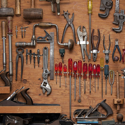 Jigsaw puzzle: Tools