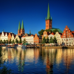 Jigsaw puzzle: Lubeck