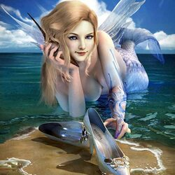 Jigsaw puzzle: Fashion mermaid