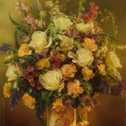 Jigsaw puzzle: Evening bouquet