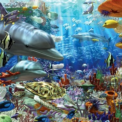 Jigsaw puzzle: Wonders of the Ocean