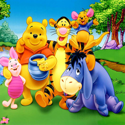 Jigsaw puzzle: Winnie the Pooh and everything, everything, everything
