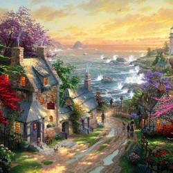 Jigsaw puzzle: By the sea
