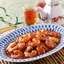 Jigsaw puzzle: Shrimp in sauce