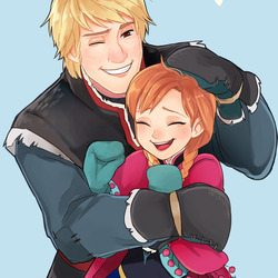 Jigsaw puzzle: Anna and Kristoff