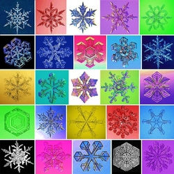 Jigsaw puzzle: Snowflakes