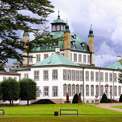 Jigsaw puzzle: Fredensborg Castle
