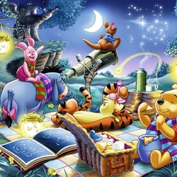 Jigsaw puzzle: Winnie the pooh and his friends