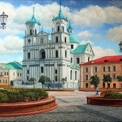 Jigsaw puzzle: Attractions Grodno