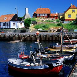 Jigsaw puzzle: Danish town
