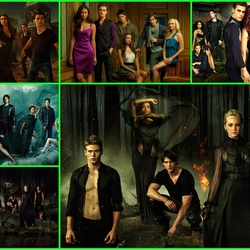 Jigsaw puzzle: The Vampire Diaries