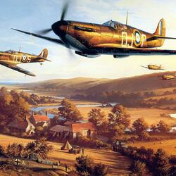 Jigsaw puzzle: Battle of Britain, 1940