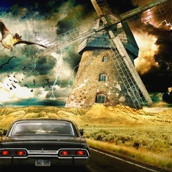 Jigsaw puzzle: Supernatural Road