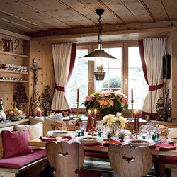 Jigsaw puzzle: Dining room