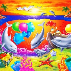 Jigsaw puzzle: Undersea world
