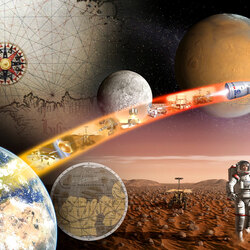 Jigsaw puzzle: Space exploration