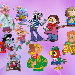Jigsaw puzzle: Old cartoons