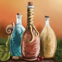 Jigsaw puzzle: Potions