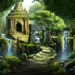 Jigsaw puzzle: Jungle ruins