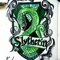 Jigsaw puzzle: Slytherin