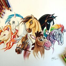 Jigsaw puzzle: My favorite horses