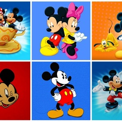 Jigsaw puzzle: Mickey Mouse