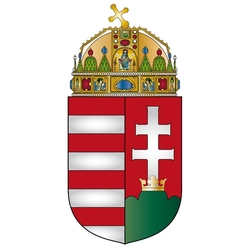 Jigsaw puzzle: Coat of arms of Hungary