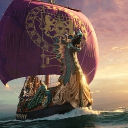Jigsaw puzzle: Dawn Treader