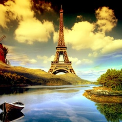 Jigsaw puzzle: The Eiffel Tower