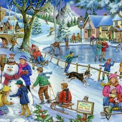 Jigsaw puzzle: Favorite winter