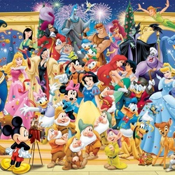 Jigsaw puzzle: Disney characters