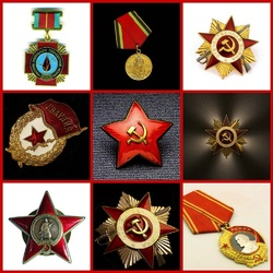 Jigsaw puzzle: Soviet awards