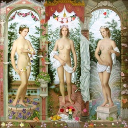 Jigsaw puzzle: Three Graces