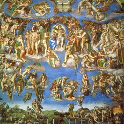 Jigsaw puzzle: The last judgment