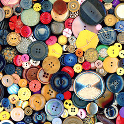 Jigsaw puzzle: Bouquet of buttons