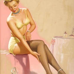 Jigsaw puzzle: Stockings