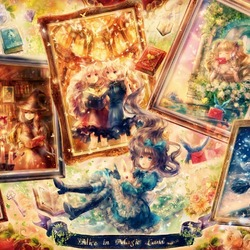 Jigsaw puzzle: Alice in Fairyland