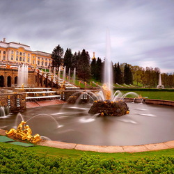 Jigsaw puzzle: The Grand Cascade of Petrodvorets
