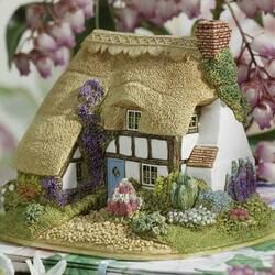 Jigsaw puzzle: House from a fairy tale