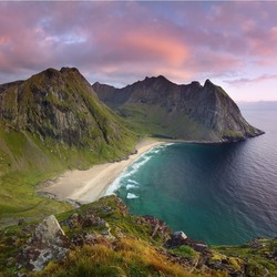 Jigsaw puzzle: Norway beaches