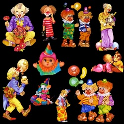 Jigsaw puzzle: Clowns