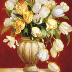 Jigsaw puzzle: Bouquet of tulips