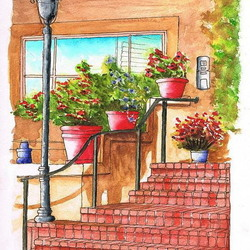 Jigsaw puzzle: Porch