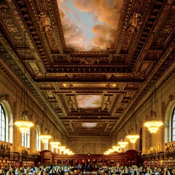 Jigsaw puzzle: New York Public Library