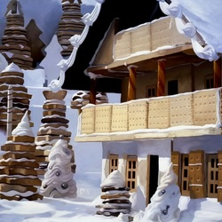 Jigsaw puzzle: Chalet