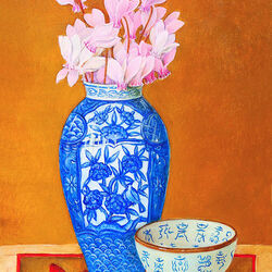 Jigsaw puzzle: Still life in japanese style
