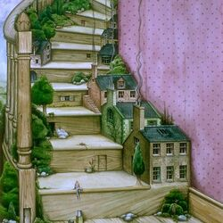 Jigsaw puzzle: Stairs