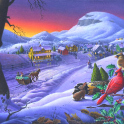 Jigsaw puzzle: Winter